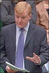 Charles Kennedy, l�der del partido Liberal Dem�crata.