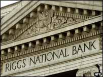 Riggs National Bank.