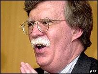 John Bolton at Yonsei University in Seoul, 21 July 2004