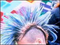 Mohican hairdo