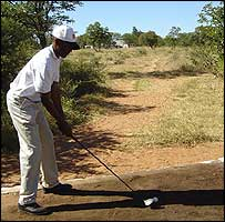 Patrick Magowe, vice-president of the Botswana Golf Union