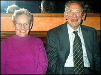 Joan Britton and her husband, James
