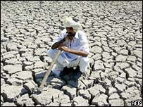 Drought conditions in Gujarat