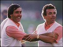 Seve Ballesteros and Tony Jacklin