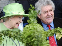 The Queen with Rhodri Morgan