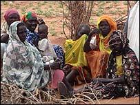 Sudanese refugees (Oxfam)