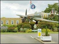 RAF Coltishall in Norfolk