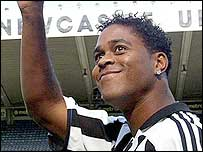 Patrick Kluivert has signed a three-year deal