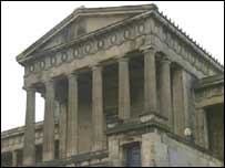 The former Royal High School is one of Edinburgh's most famous landmarks