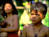 Peruvian boy, BBC