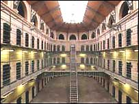The movie was shot in Dublin's Kilmainham jail - now a museum