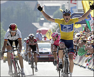 Armstrong wins