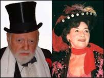 Dominic Le Foe y Norma Dunbar.