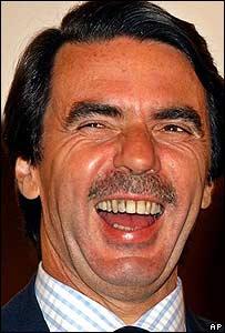 El ex mandatario espa�ol en Argentina el 19.07.2004