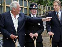 Tony Blair and Michael Winner