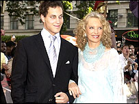 Princess Michael of Kent and her son Freddie Windsor