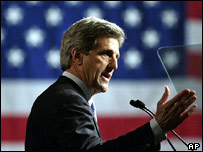 Democratic presidential candidate John Kerry