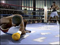 Screenshot from Fight Night, EA