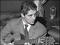 Sacha Distel started off as a jazz guitarist