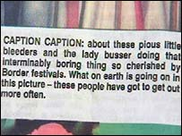 Caption in the Southern Reporter