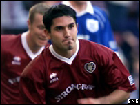 Juanjo was at Hearts for three years