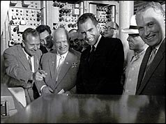 Phillip Gundy, Nikita Khrushchev and Richard Nixon