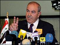 Iraqi PM Iyad Allawi