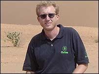 Adrian McIntyre pictured in Darfur