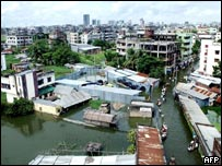 Dhaka flooded