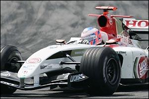 BAR driver Jenson Button