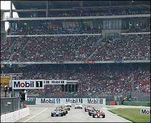 Ferrari's Schumacher starts in pole position