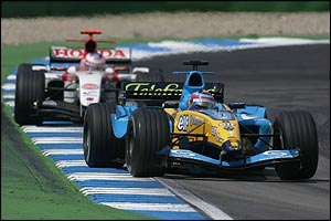 Alonso leads Button