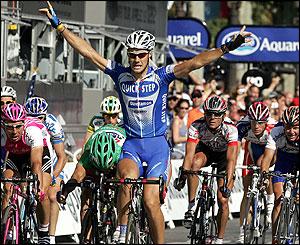 Tom Boonen wins stage 20
