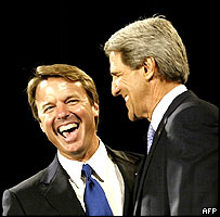 John Edwards and John Kerry