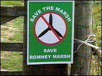 anti-wind farm poster