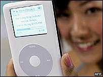 Apple iPod music player