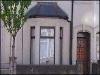 Philip Heggarty's flat in Grangetown, Cardiff