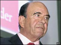 Emilio Botin, BSCH boss.