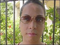 Travesti cubano (foto de Raquel P�rez)