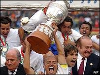 Brasil campe�n Copa Am�rica 2004