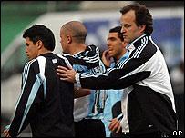 Marcelo Bielsa, t�cnico de Argentina