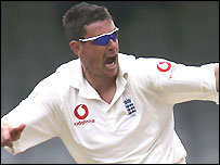 Giles claimed his best ever match figures