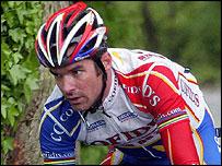 British cyclist David Millar