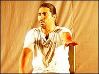 Nicaraguan actor and playwright Cesar Melendez