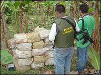Colombia sufre el estigma de la droga.