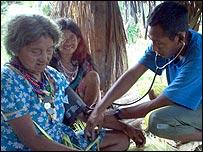 Atención médica a los Warao