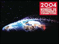 Paris Motorshow poster