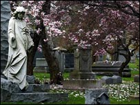 The Woodlawn Cemetery, New York (courtesy of Woodlawn Cemetery)
