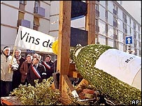 Protests in Burgundy