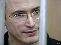 Mr Khodorkovsky in prison